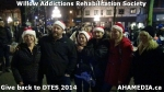 98 AHA MEDIA at Willow Addictions Rehabilitation Society giving back to the DTES