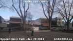 3 AHA MEDIA sees man playing tetherball tennis in Oppenheimer Park in Vancouver DTES
