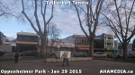 4 AHA MEDIA sees man playing tetherball tennis in Oppenheimer Park in Vancouver DTES