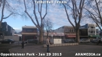 5 AHA MEDIA sees man playing tetherball tennis in Oppenheimer Park in Vancouver DTES
