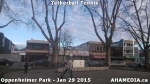 6 AHA MEDIA sees man playing tetherball tennis in Oppenheimer Park in Vancouver DTES
