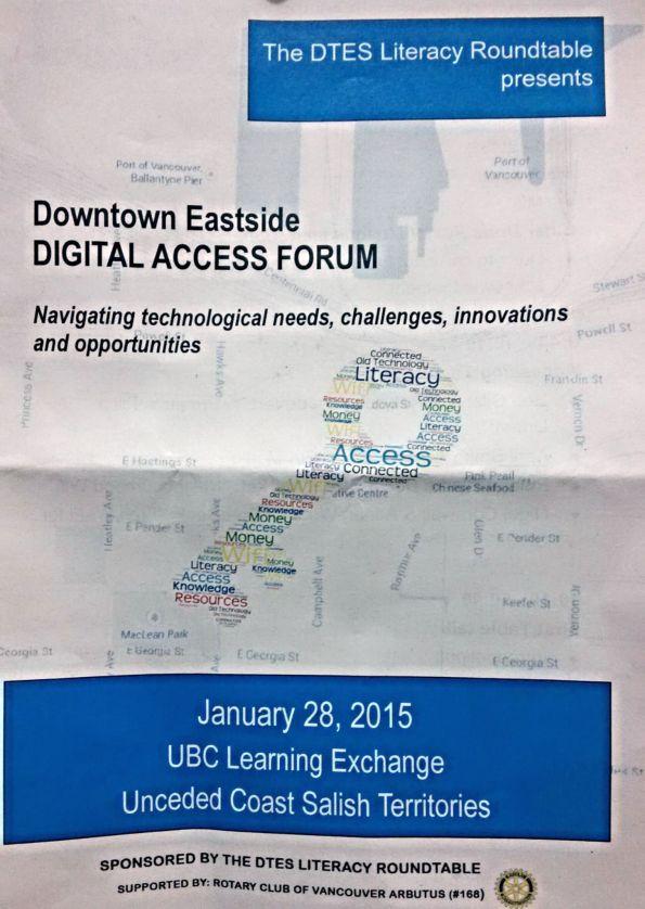 DTES Digital Access forum