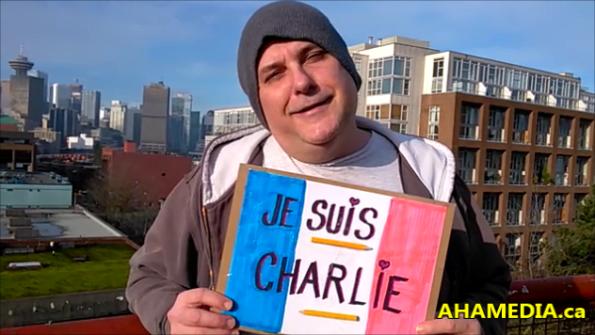Garvin Snider of AHA MEDIA Je Suis Charlie in Vancouver 1 (4)