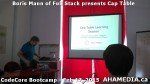 1 AHA MEDIA at Boris Mann of Full Stack presents Cap Tables & Shares at CodeCore Bootcamp Community W