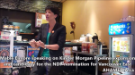 1 Are you concerened about Kinder Morgan pipeline expansion event with Mable Elmore and Sven Biggs in Vancouver (10)