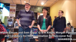 1 Are you concerened about Kinder Morgan pipeline expansion event with Mable Elmore and Sven Biggs in Vancouver (16)