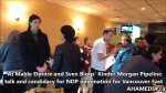 1 Are you concerened about Kinder Morgan pipeline expansion event with Mable Elmore and Sven Biggs in Vancouver (28)