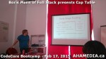 10 AHA MEDIA at Boris Mann of Full Stack presents Cap Tables & Shares at CodeCore Bootcamp Community W