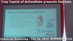 10 AHA MEDIA at Troy Topnik of ActiveState talk at CodeCore Bootcamp community week Feb 16 2015 in Van