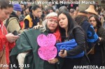 12 AHA MEDIA at 25th Annual Women's Memorial March on Feb 14, 2015 in Vancouver DTES