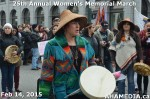 14 AHA MEDIA at 25th Annual Women's Memorial March on Feb 14, 2015 in Vancouver DTES