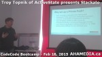 14 AHA MEDIA at Troy Topnik of ActiveState talk at CodeCore Bootcamp community week Feb 16 2015 in Van
