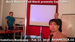 16 AHA MEDIA at Boris Mann of Full Stack presents Cap Tables & Shares at CodeCore Bootcamp Community W