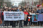 17 AHA MEDIA at 25th Annual Women's Memorial March on Feb 14, 2015 in Vancouver DTES