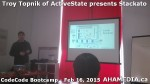 18 AHA MEDIA at Troy Topnik of ActiveState talk at CodeCore Bootcamp community week Feb 16 2015 in Van