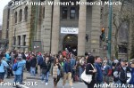 2 AHA MEDIA at 25th Annual Women's Memorial March on Feb 14, 2015 in Vancouver DTES