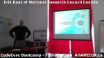 2 AHA MEDIA at Erik Kaas of National Research Council of Canada talk at CodeCoreBootcamp - Feb 18, 20