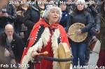 20 AHA MEDIA at 25th Annual Women's Memorial March on Feb 14, 2015 in Vancouver DTES