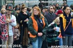 21 AHA MEDIA at 25th Annual Women's Memorial March on Feb 14, 2015 in VancouverDTES
