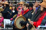 22 AHA MEDIA at 25th Annual Women's Memorial March on Feb 14, 2015 in Vancouver DTES