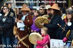 23 AHA MEDIA at 25th Annual Women's Memorial March on Feb 14, 2015 in Vancouver DTES