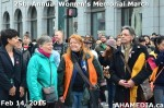 24 AHA MEDIA at 25th Annual Women's Memorial March on Feb 14, 2015 in Vancouver DTES