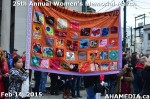 29 AHA MEDIA at 25th Annual Women's Memorial March on Feb 14, 2015 in Vancouver DTES