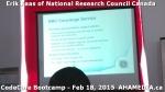 3 AHA MEDIA at Erik Kaas of National Research Council of Canada talk at CodeCoreBootcamp – Feb 18,20