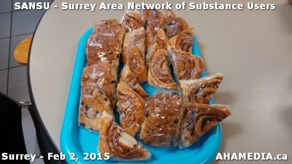 3 AHA MEDIA at SANSU - Surrey Area Network of Substance Users Meeting on Feb 2, 2015