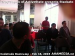 31 AHA MEDIA at Troy Topnik of ActiveState talk at CodeCore Bootcamp community week Feb 16 2015 in Van