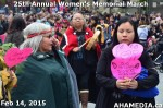 33 AHA MEDIA at 25th Annual Women's Memorial March on Feb 14, 2015 in VancouverDTES