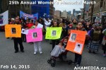 37 AHA MEDIA at 25th Annual Women's Memorial March on Feb 14, 2015 in Vancouver DTES