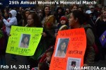 38 AHA MEDIA at 25th Annual Women's Memorial March on Feb 14, 2015 in VancouverDTES