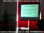 4 AHA MEDIA at Boris Mann of Full Stack presents Cap Tables & Shares at CodeCore Bootcamp Community W