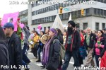 45 AHA MEDIA at 25th Annual Women's Memorial March on Feb 14, 2015 in Vancouver DTES