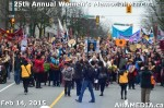 46 AHA MEDIA at 25th Annual Women's Memorial March on Feb 14, 2015 in Vancouver DTES
