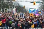 49 AHA MEDIA at 25th Annual Women's Memorial March on Feb 14, 2015 in Vancouver DTES