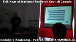 5 AHA MEDIA at Erik Kaas of National Research Council of Canada talk at CodeCoreBootcamp - Feb 18, 20