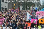 50 AHA MEDIA at 25th Annual Women's Memorial March on Feb 14, 2015 in Vancouver DTES