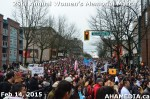 53 AHA MEDIA at 25th Annual Women's Memorial March on Feb 14, 2015 in Vancouver DTES