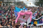 54 AHA MEDIA at 25th Annual Women's Memorial March on Feb 14, 2015 in Vancouver DTES