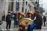 6 AHA MEDIA at 25th Annual Women's Memorial March on Feb 14, 2015 in VancouverDTES