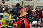 62 AHA MEDIA at 25th Annual Women's Memorial March on Feb 14, 2015 in Vancouver DTES