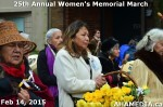 65 AHA MEDIA at 25th Annual Women's Memorial March on Feb 14, 2015 in Vancouver DTES