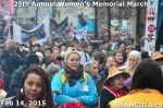 66 AHA MEDIA at 25th Annual Women's Memorial March on Feb 14, 2015 in VancouverDTES