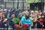 67 AHA MEDIA at 25th Annual Women's Memorial March on Feb 14, 2015 in Vancouver DTES