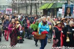 69 AHA MEDIA at 25th Annual Women's Memorial March on Feb 14, 2015 in Vancouver DTES