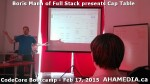 7 AHA MEDIA at Boris Mann of Full Stack presents Cap Tables & Shares at CodeCore Bootcamp Community W
