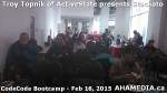 7 AHA MEDIA at Troy Topnik of ActiveState talk at CodeCore Bootcamp community week Feb 16 2015 in Van