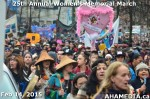 70 AHA MEDIA at 25th Annual Women's Memorial March on Feb 14, 2015 in Vancouver DTES